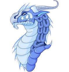 Magic dragon vector