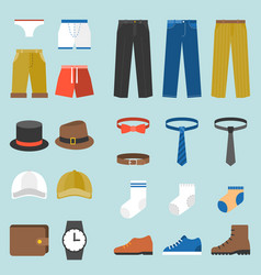 male clothes fashion underpants vector image