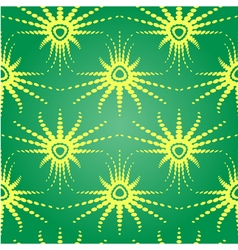 Retro optical seamless pattern vector image