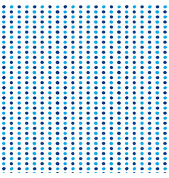 seamless repeating sketchy polka dot pattern vector image