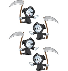 Reaper Pointing vector image vector image