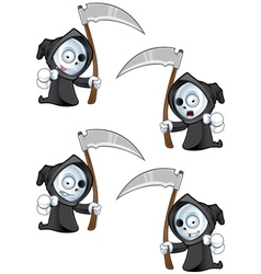 Reaper Pointing Forward vector image