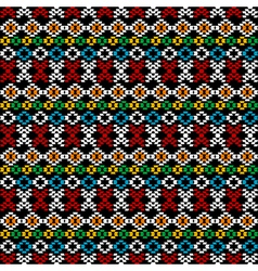 Ethnic carpet background vector image