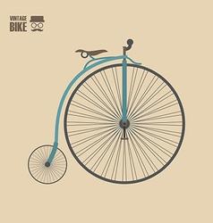 133vintage bike vector