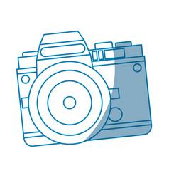 camera technology photo travel equipment vector image