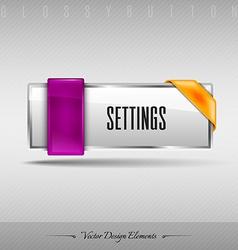 design element Business web button for website or vector image