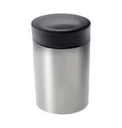food vacuum flask - on white background vector image
