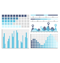 infographics business concepts in visual form vector image