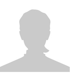 Profile placeholder image gray silhouette no vector