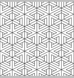 seamless geometric pattern - decorative vector image