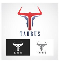 Taurus symbol vector