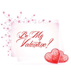Valentines Day Type Text vector image