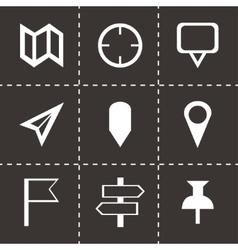 check marks icons set vector image