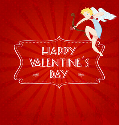 valentines card05 vector image vector image