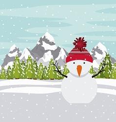 Merry chirstmas design vector
