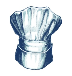 hat of chef vector image vector image