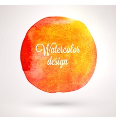 Abstract Watercolor Design vector image