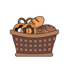 bakery products desgin vector image