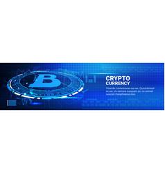 bitcoin charts modern web money networking vector image