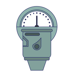 Parking meter device vector