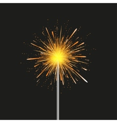 Sparkler modern background Eps 10 vector