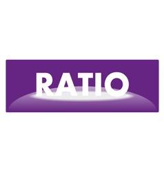 web icon ratio vector image