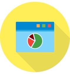 Webpage Statistics vector