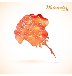 background of flowers rose vector image vector image