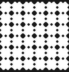 polka dot seamless pattern rhombus vector image vector image