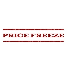 Price freeze watermark stamp vector