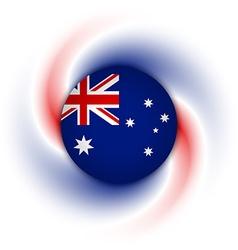Australian background vector image