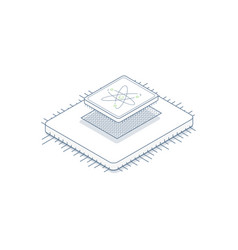 central processor unit vector image