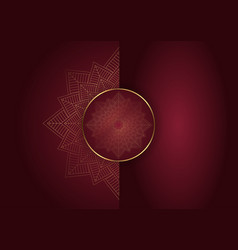 Elegant mandala design vector