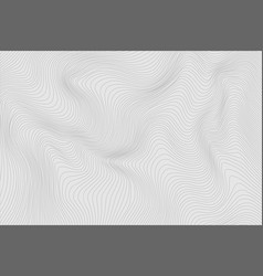Gray linear abstract background for your design vector