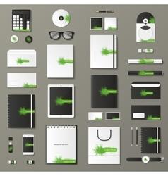 Mock up set vector image