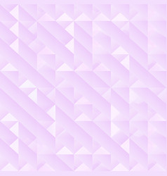 pastel color geometric triangle pattern vector image