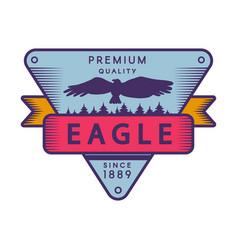 recreational park color logo template vector image