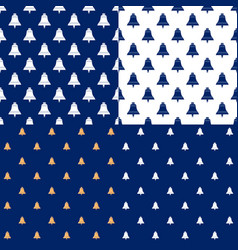seamless maritime pattern with ship bell vector image