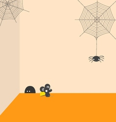 Spider and Rat vector