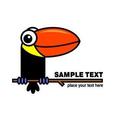 Toucan icon vector