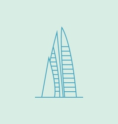 Manama vector image vector image