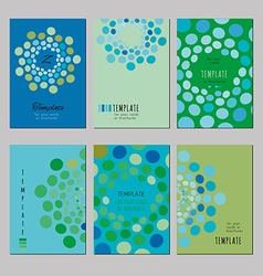 Notebook templates vector image vector image
