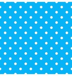 Seamless polka dot pattern vector image vector image