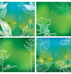 background natural 05 vector image vector image
