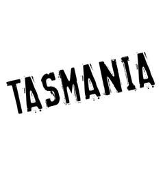 tasmania rubber stamp vector image