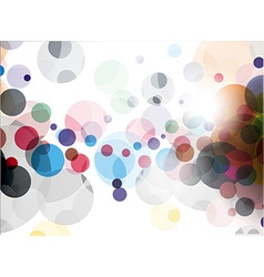 abstract colourful backgroung vector image