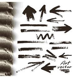 Art elements vector