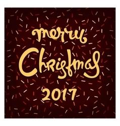 Chocolate Christmas design vector