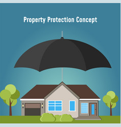 concept security of property vector image
