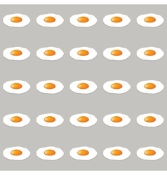 eggs seamless pattern vector image